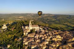 Over Todi's San Fortunato